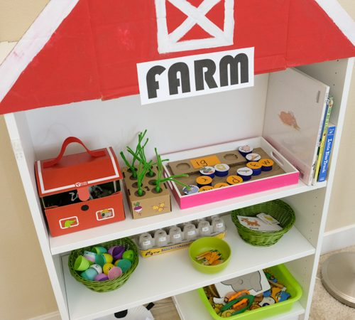 Farm theme learning activities for kids
