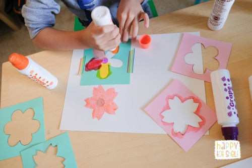 Using Dot Markers to create beautiful Flower Painting