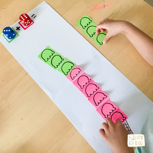Ice Cream addition Activities for Kids